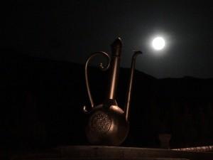 گلابدان و ماه