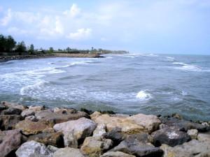 دریای کاسپین (هیرکان) - ساحل دریا کنار